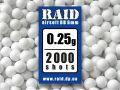 Шары Raid 0,25г 2000 шт.
