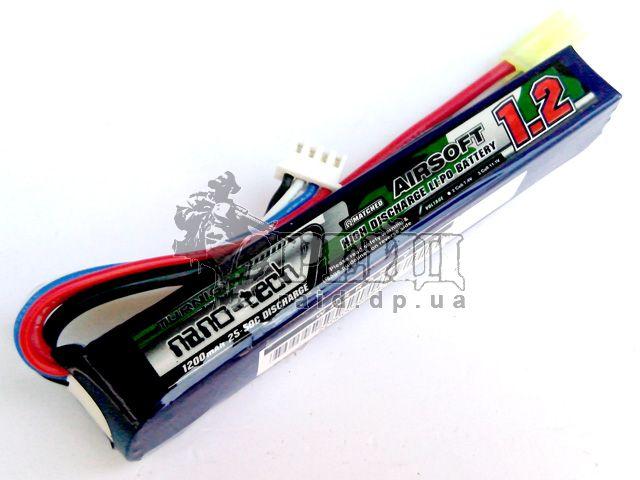 Аккумуляторная батарея Turnigy NANO-TECH LiPo 11.1V 1200mAh 25-50c