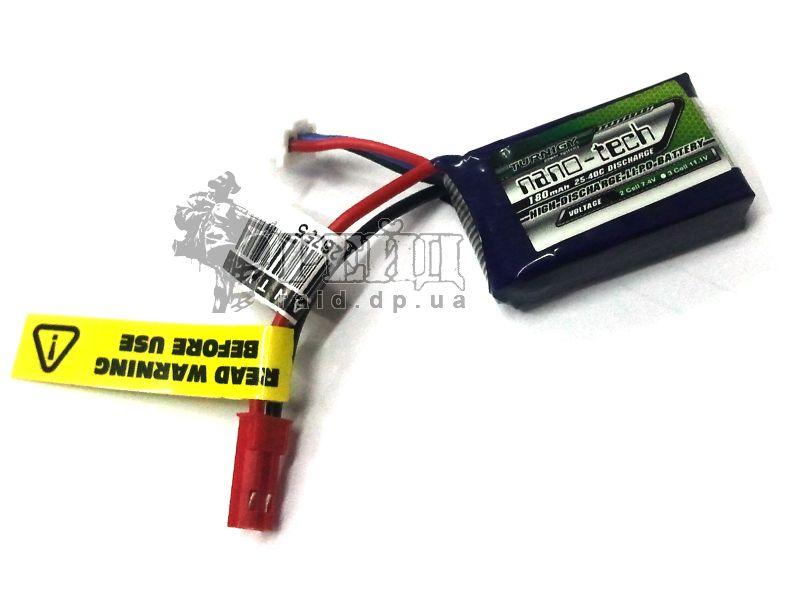 Аккумуляторная батарея Turnigy NANO-TECH LiPo 7.4V 180mAh 25-40c: