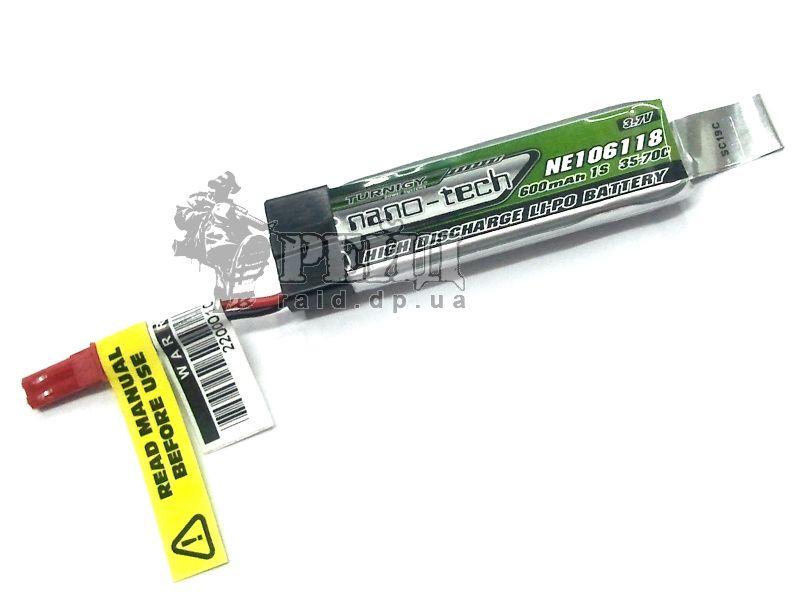 Аккумуляторная батарея Turnigy NANO-TECH LiPo 3.7V 600mAh 35-70c