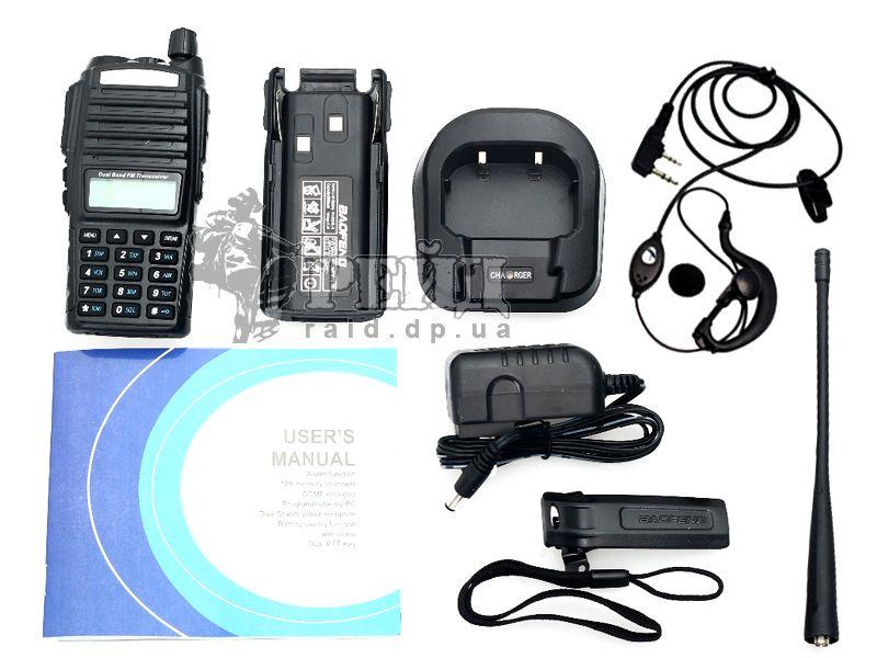 Радиостанция BAOFENG UV-82 (двухканальная), всего за - 879 грн.