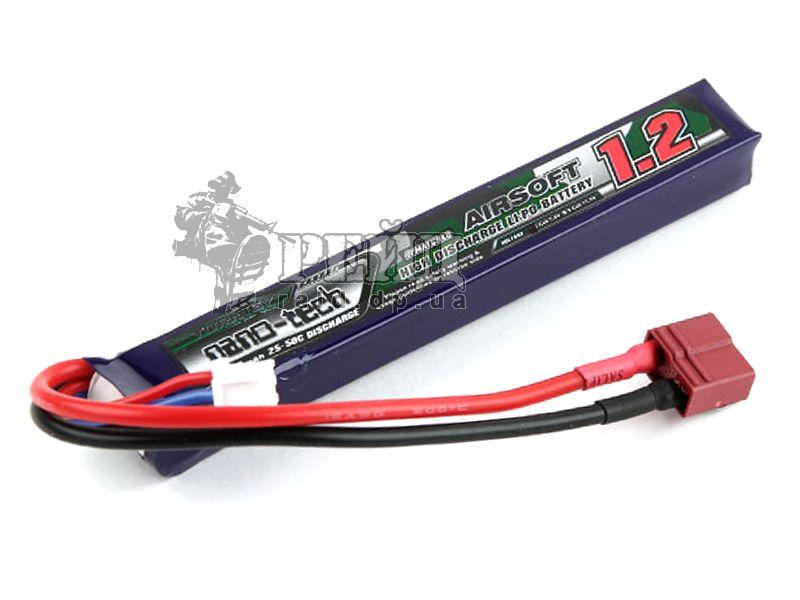Аккумуляторная батарея Turnigy NANO-TECH LiPo 11.1V 1200mAh 15-25c (T-коннектор)
