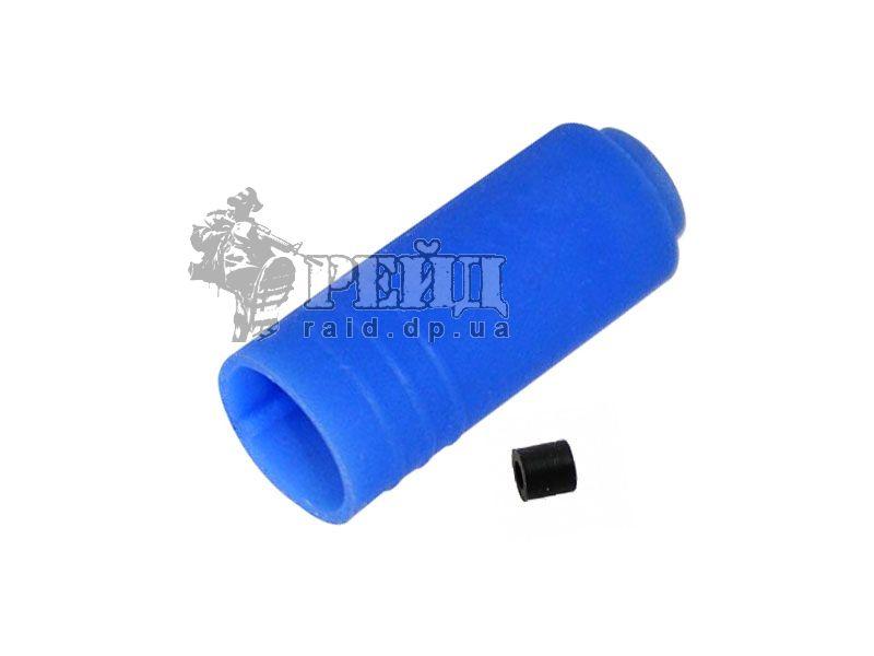 SHS Резинка Hop-UP, синяя силикон (70 dg):