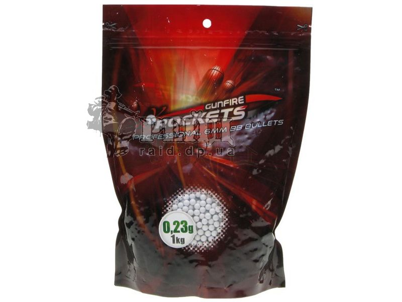 Шары Rockets Professional 0,23г 1кг 4400шт.
