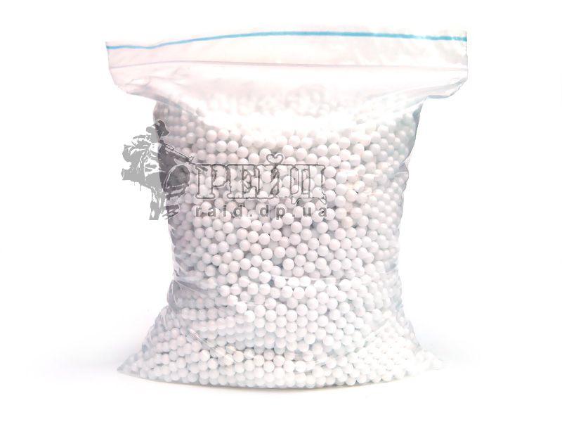 Шары Raid белые 0,12г 10000 шт. для тира